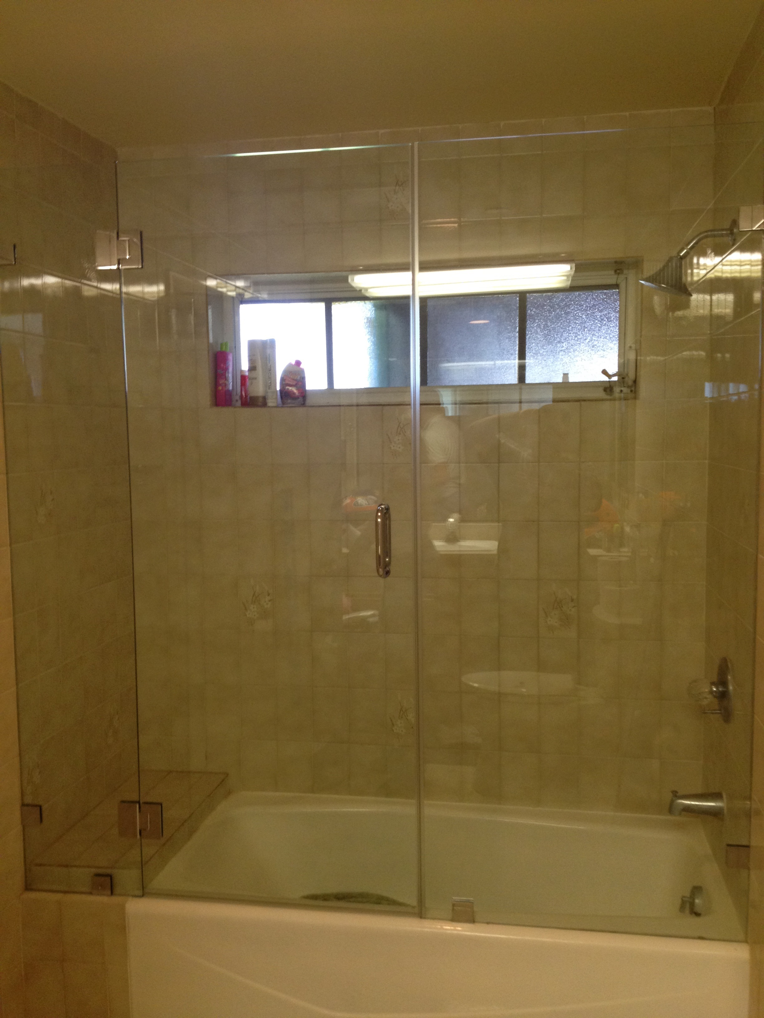 Tub Glass Door