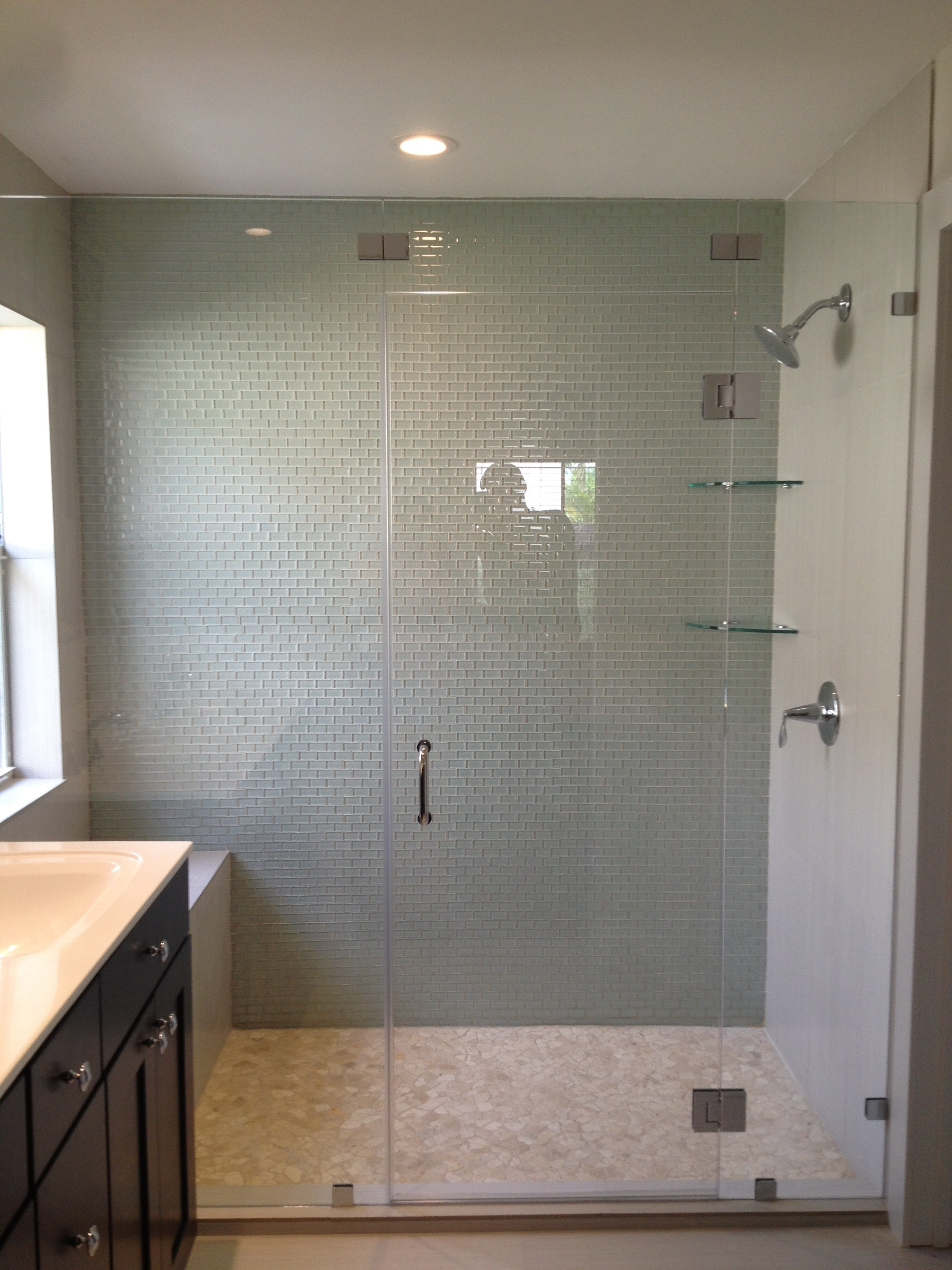 Custom Frameless Glass Shower Doors City Of Kenmore Washington