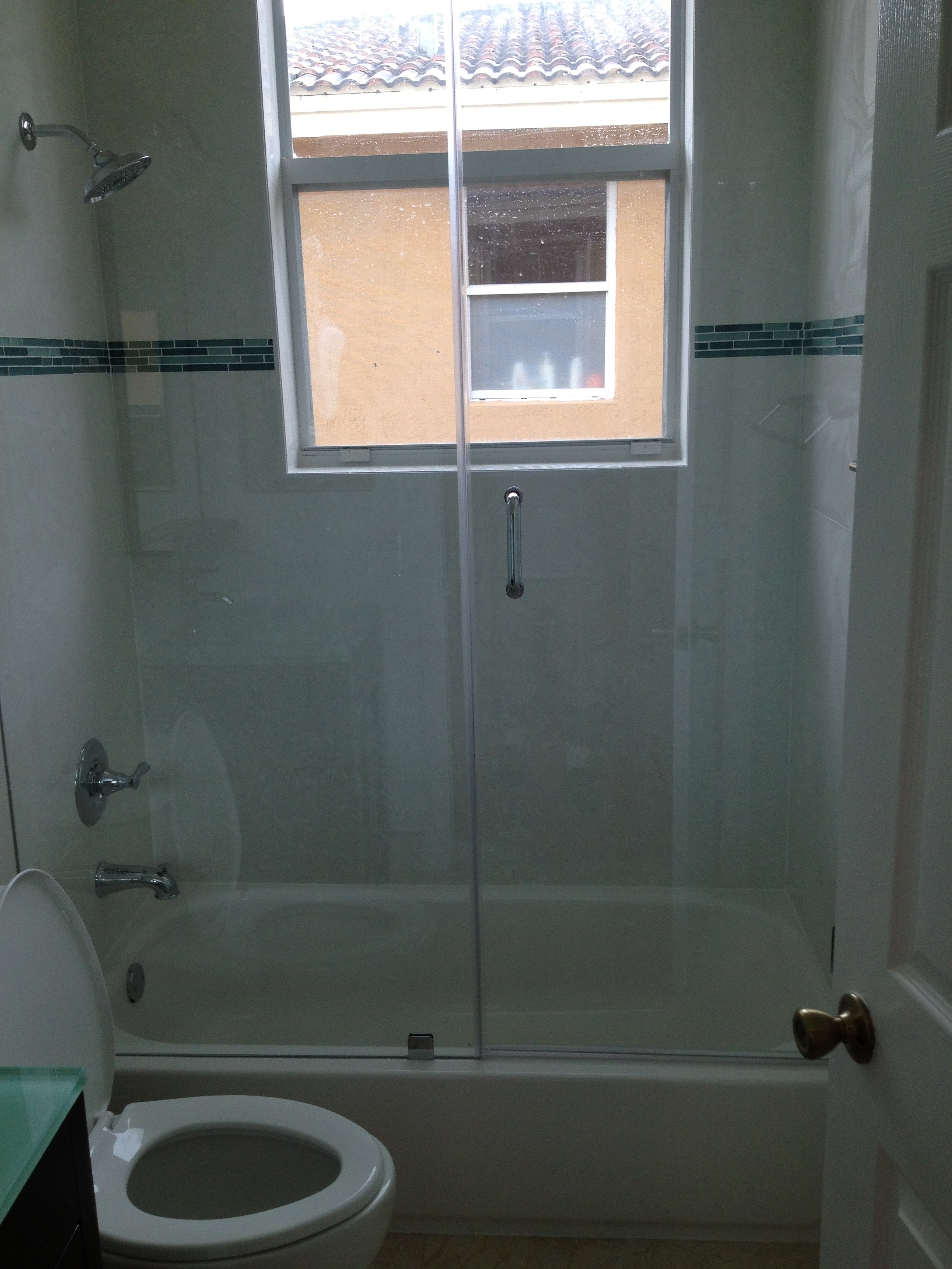 Tub Frameless Doors